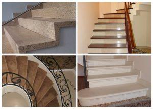 Бетонные ступени для лестниц